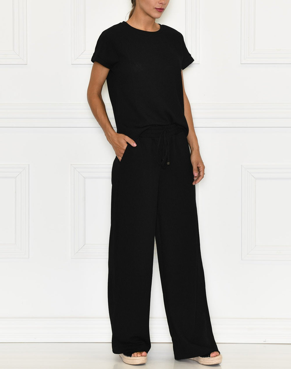 Saint Tropez BeatheSZ long pants black - Online-Mode