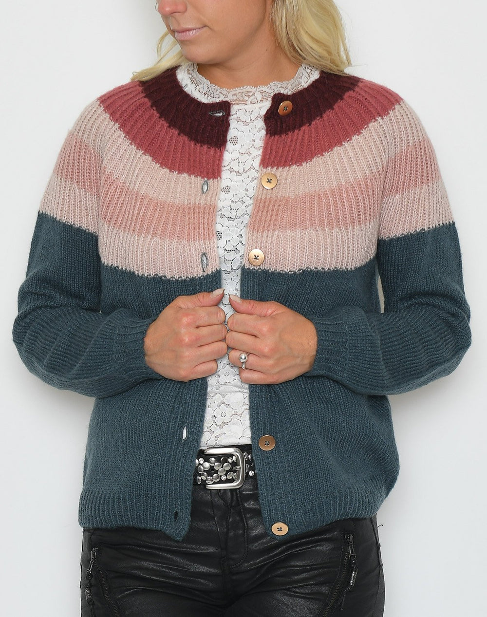 Saint Tropez knit cardigan dragonfly - Online-Mode