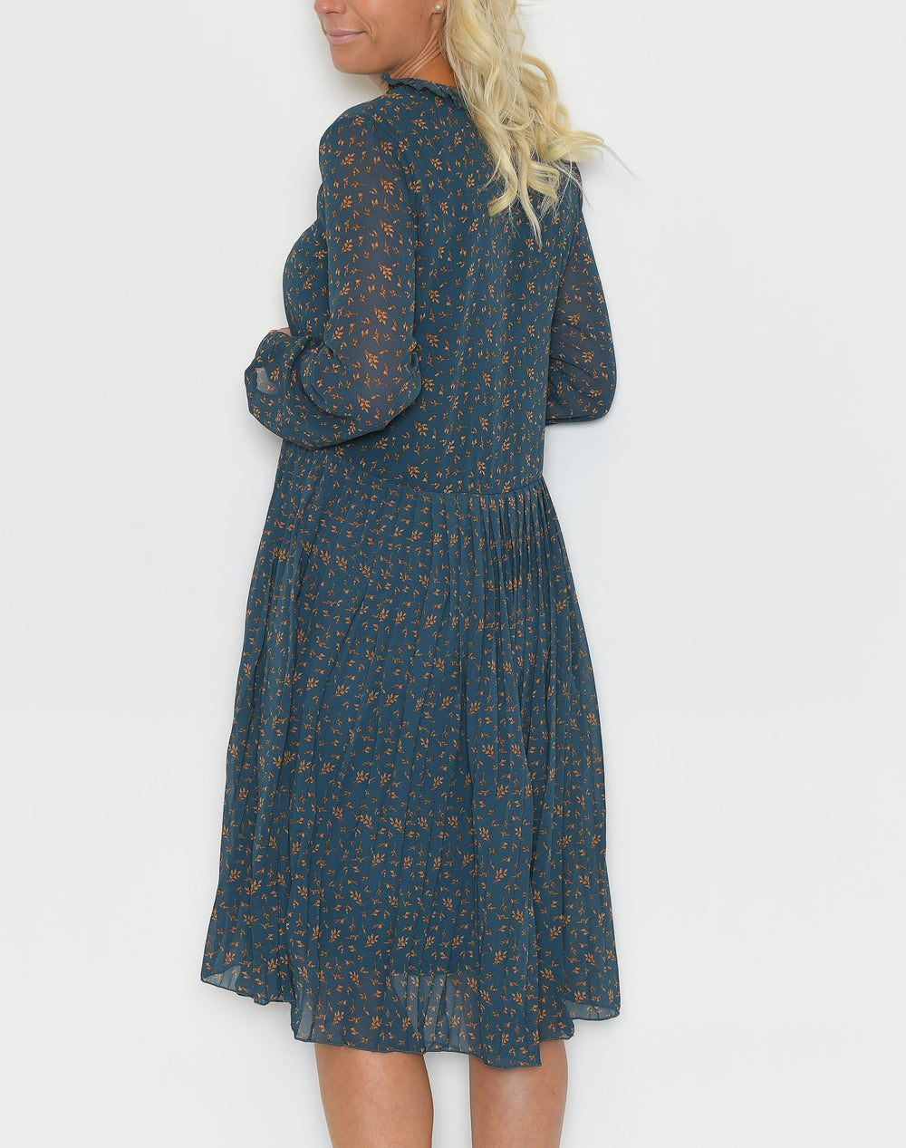 Saint Tropez Woven shirt dress m. navy - Online-Mode