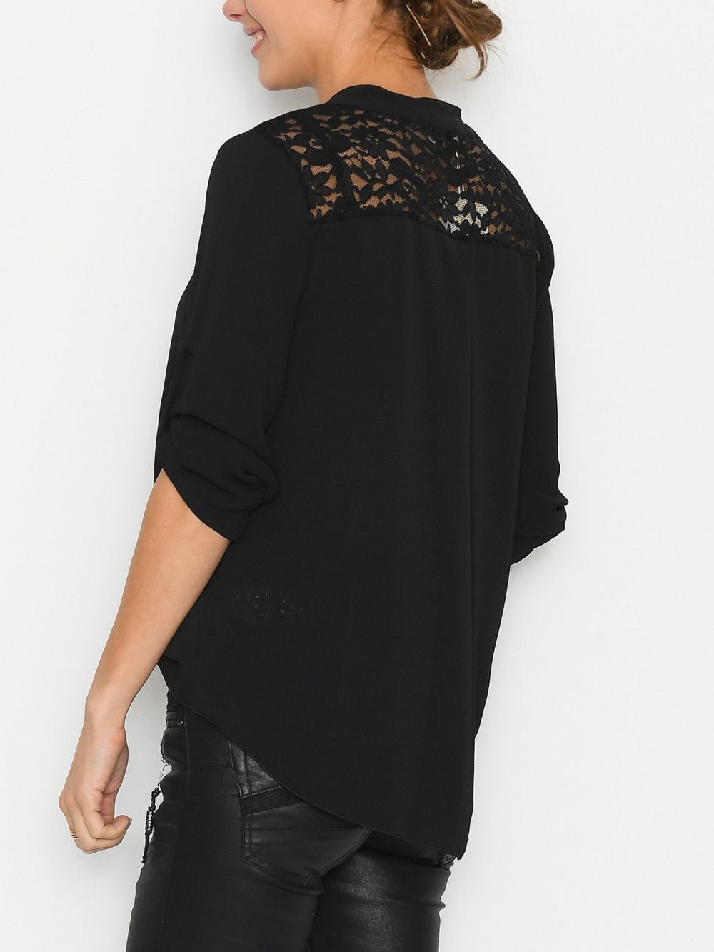 Scarlett blouse black - Online-Mode