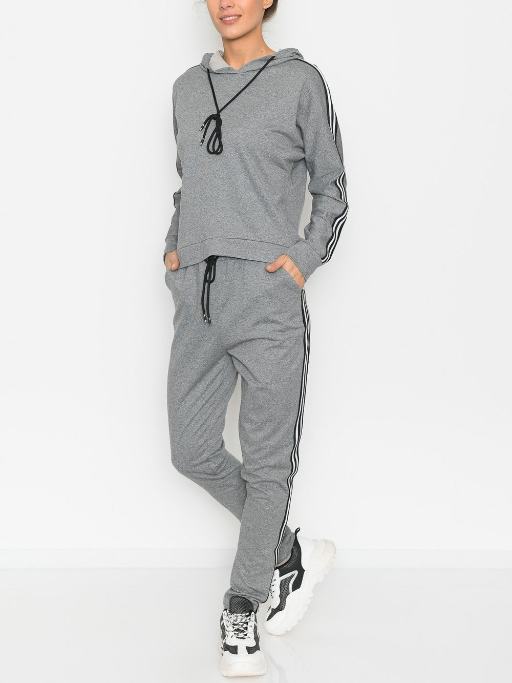 Sidney sweatshirt grey - Online-Mode