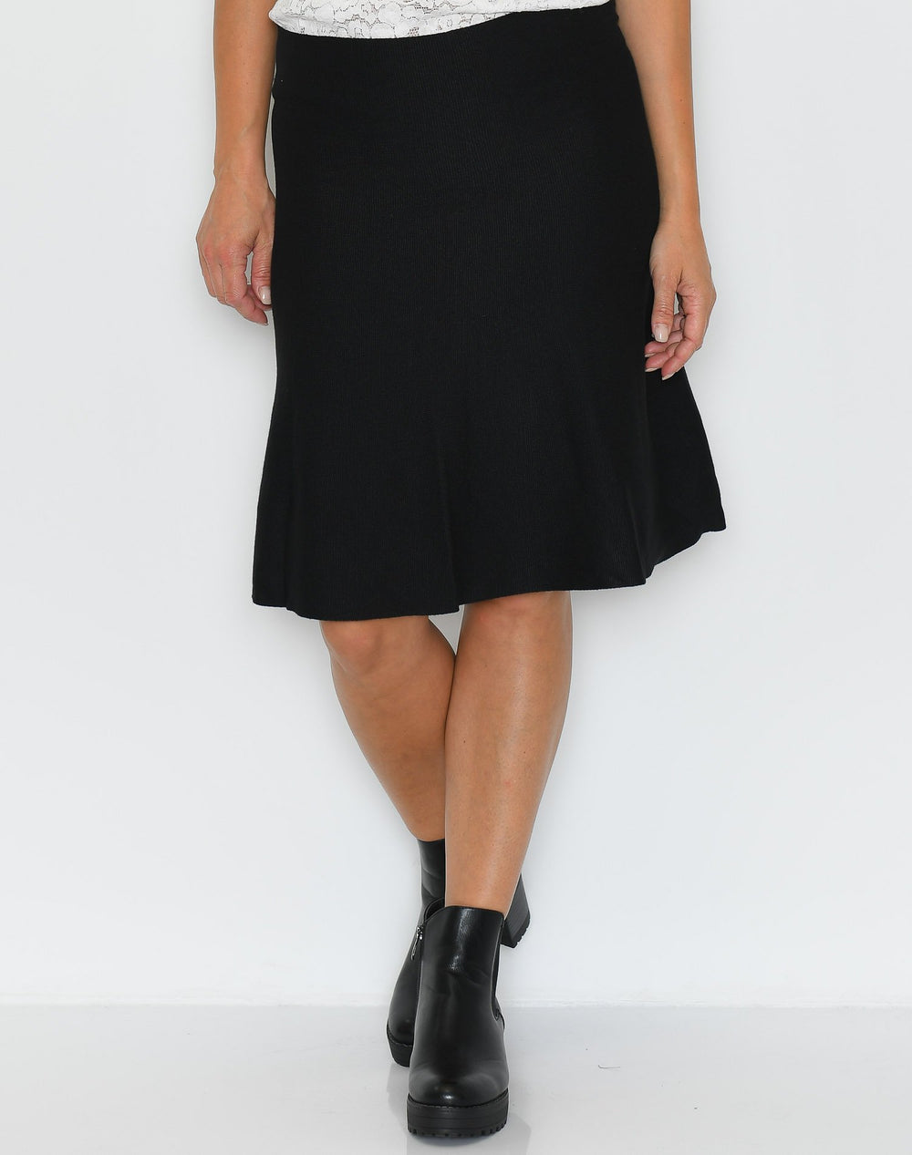 Soft Rebels Henrietta skirt black - Online-Mode