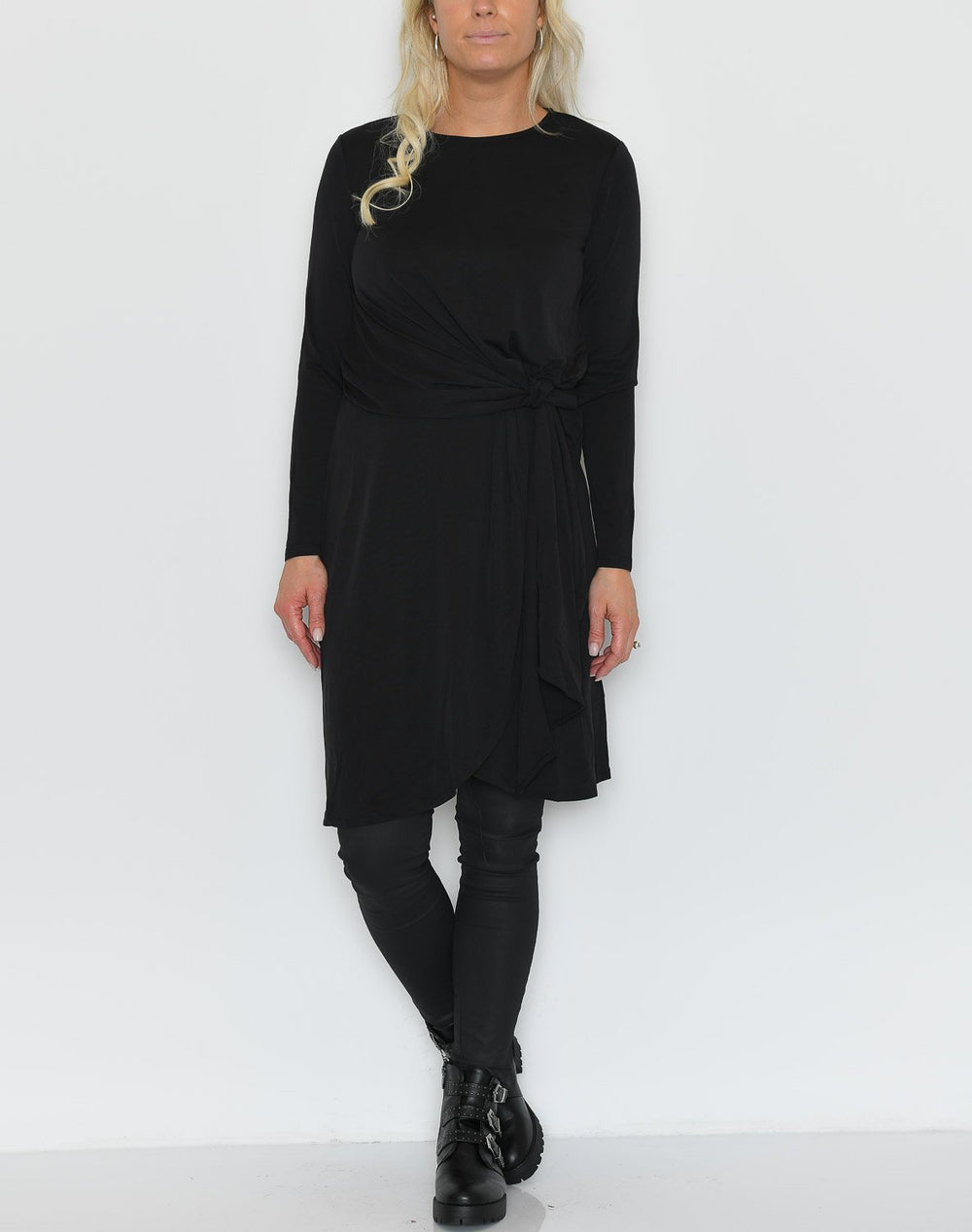 Soft Rebels Jennie LS dress black - Online-Mode