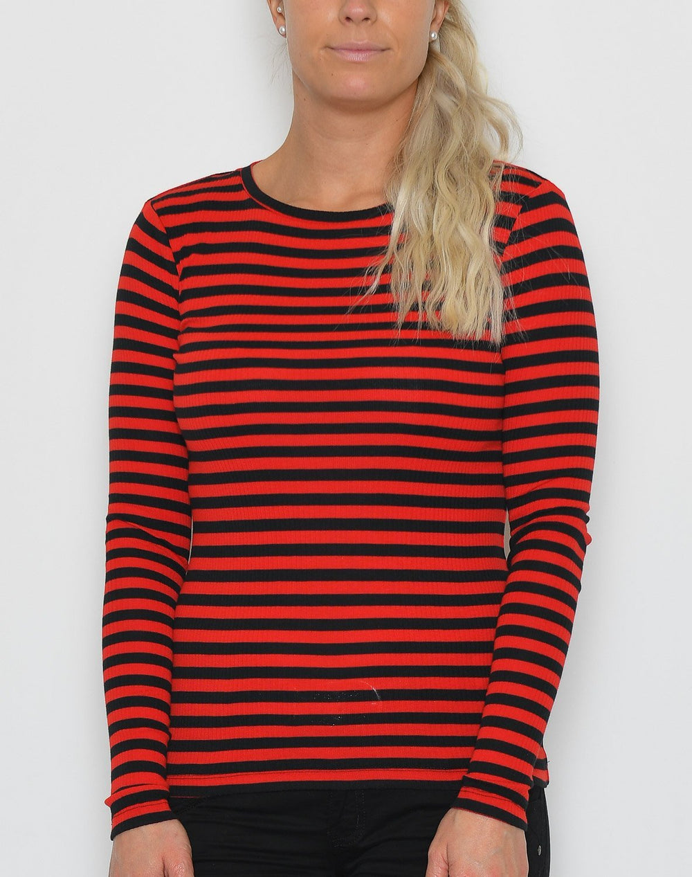 Soft Rebels Olivia LS top flame scarlet - Online-Mode