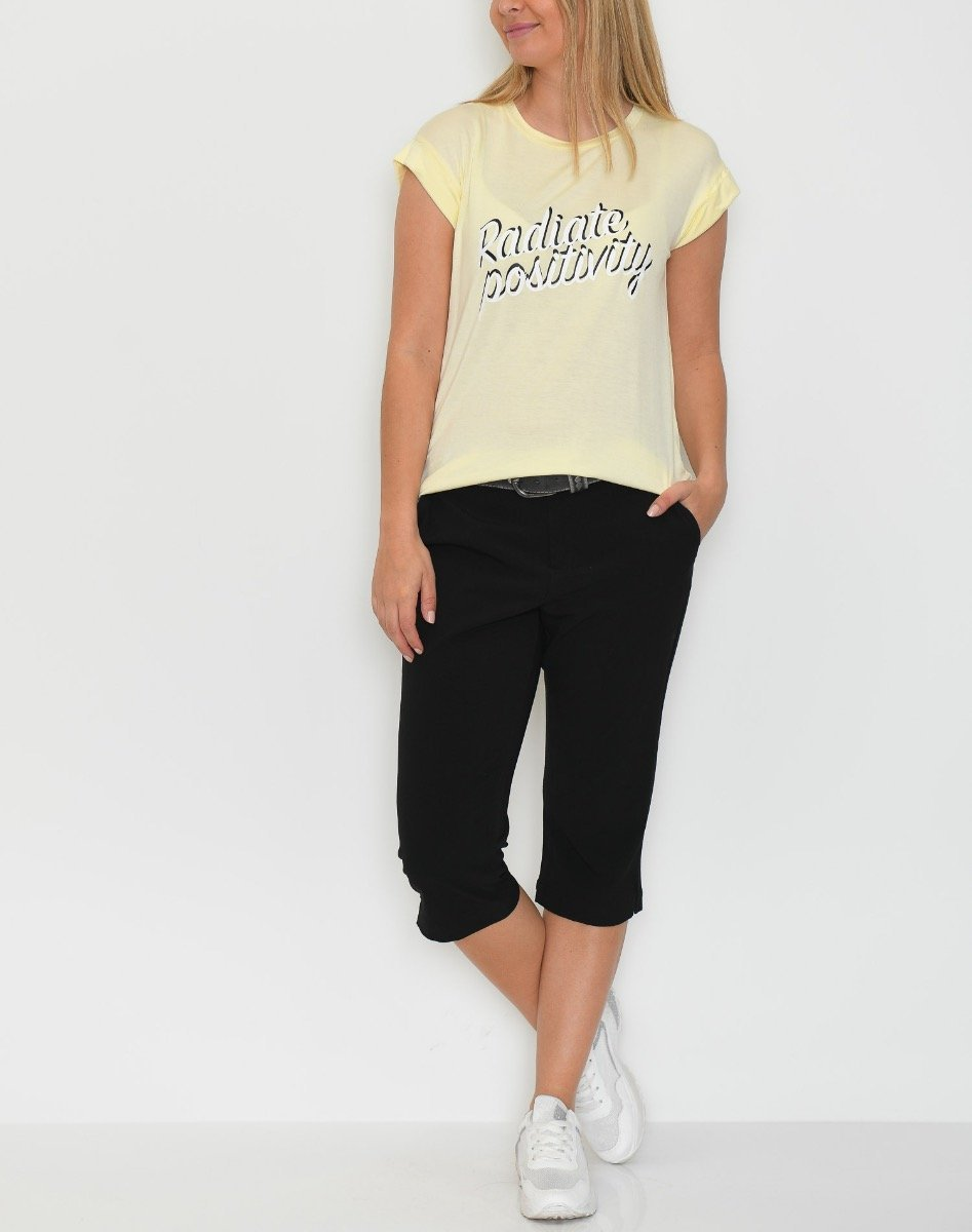 Soft Rebels Radiate t-shirt elfin yellow - Online-Mode