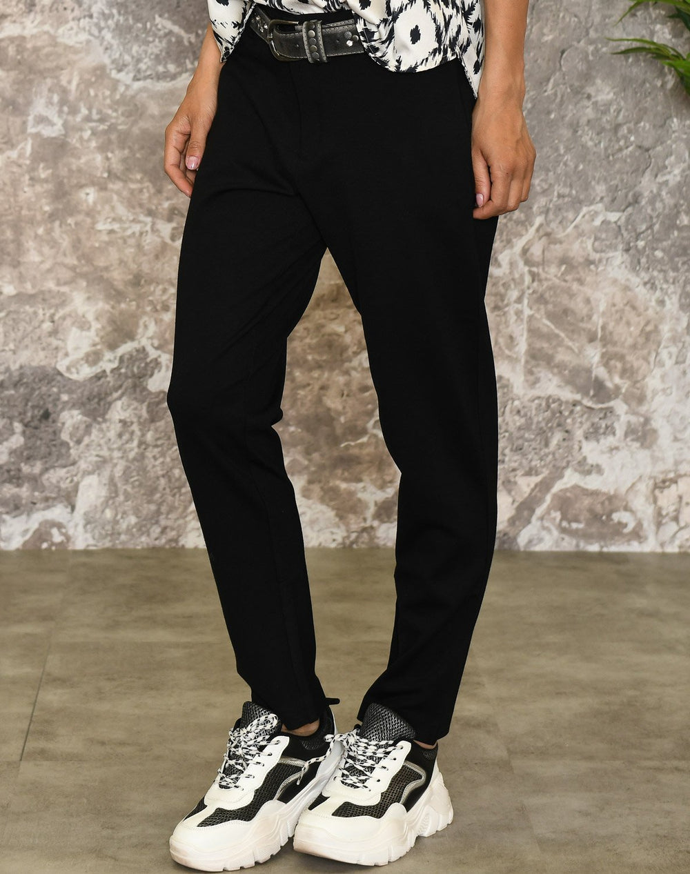 Soft Rebels Sofia cropped pant black - Online-Mode