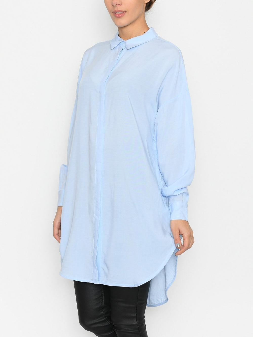 Soft Rebels SRfreedom LS long shirt cashmere blue - Online-Mode