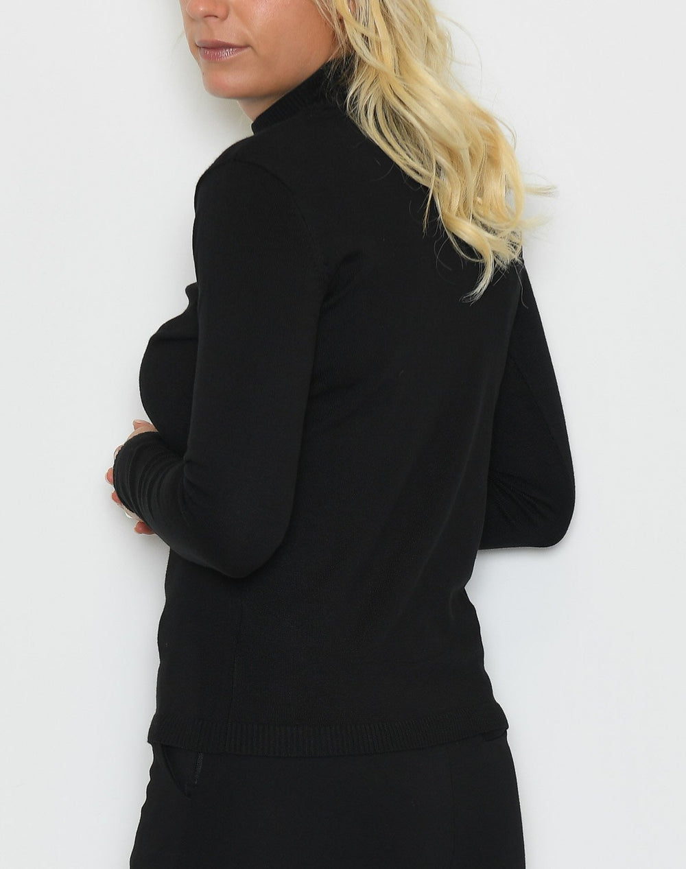 Soft Rebels Zara turtleneck bluse black - Online-Mode