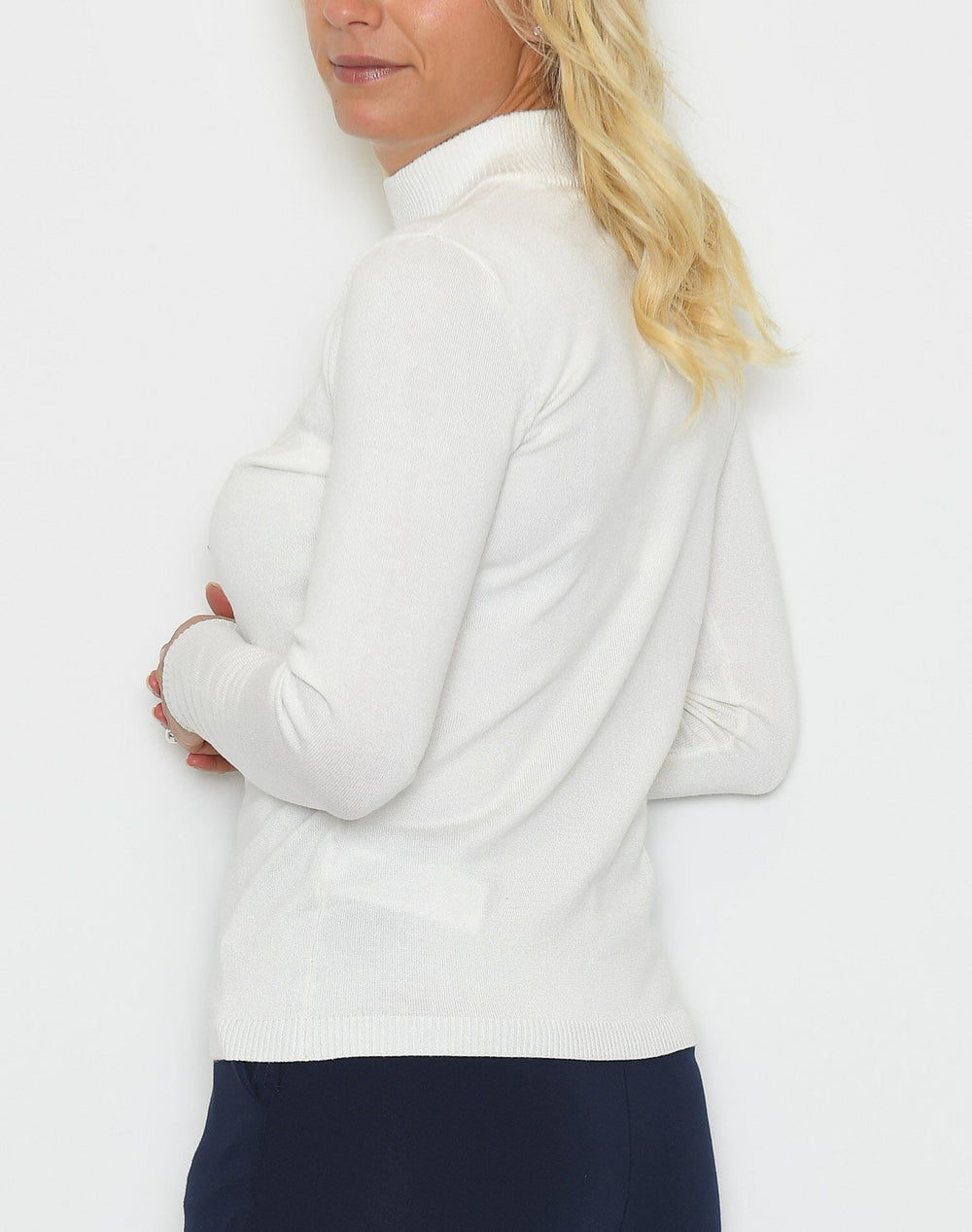 Soft Rebels Zara turtleneck bluse off white - Online-Mode