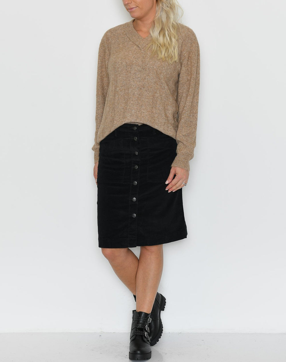 Soya Bailey 1 skirt black - Online-Mode