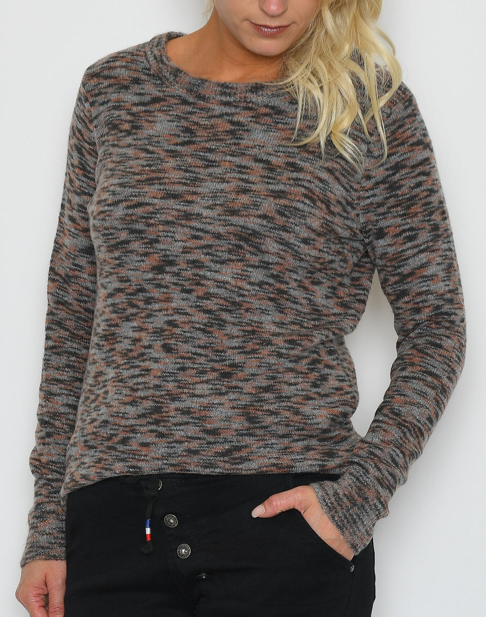 Soya Bernadet 1 bluse brown mix - Online-Mode