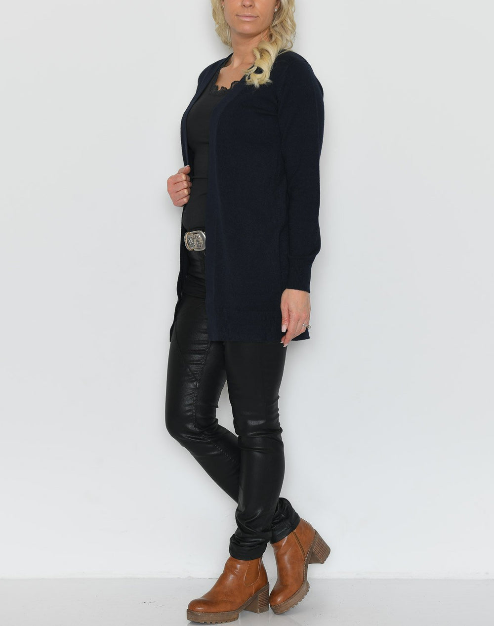 Soya Blissa 3 cardigan navy - Online-Mode