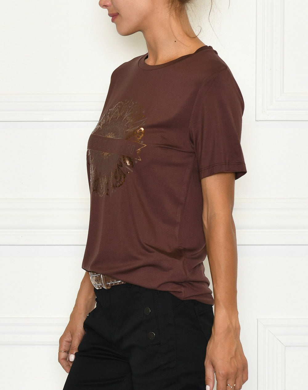 Soya Concept SC-Marica FP 11 t-shirt brown - Online-Mode