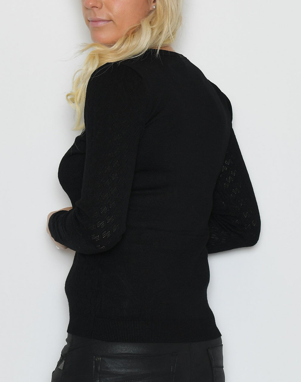 Soya Dollie 598 pullover black - Online-Mode