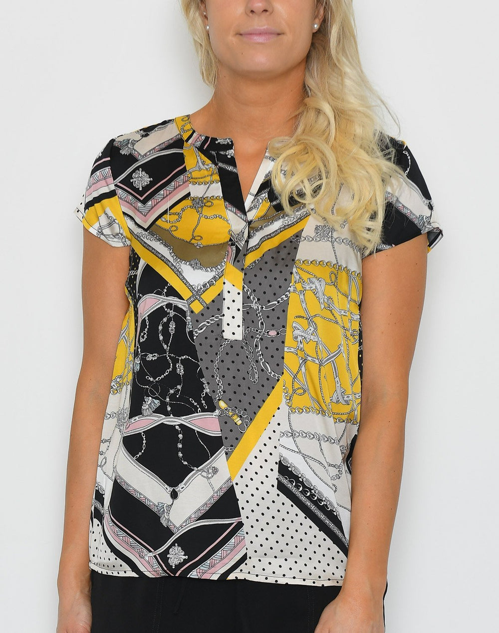 Soya Dorothy 1 t-shirt yellow mix - Online-Mode