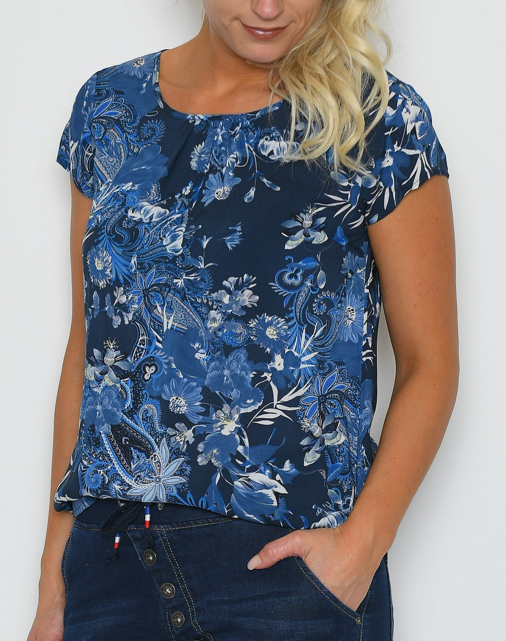 Soya Isabea 1 t-shirt blue mix - Online-Mode