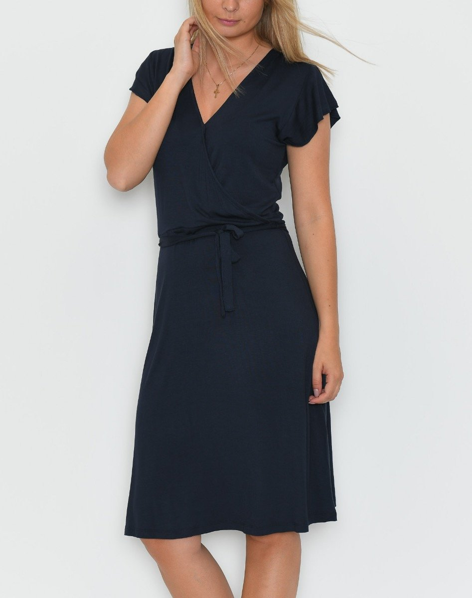 Soya Malvina 4 dress navy - Online-Mode