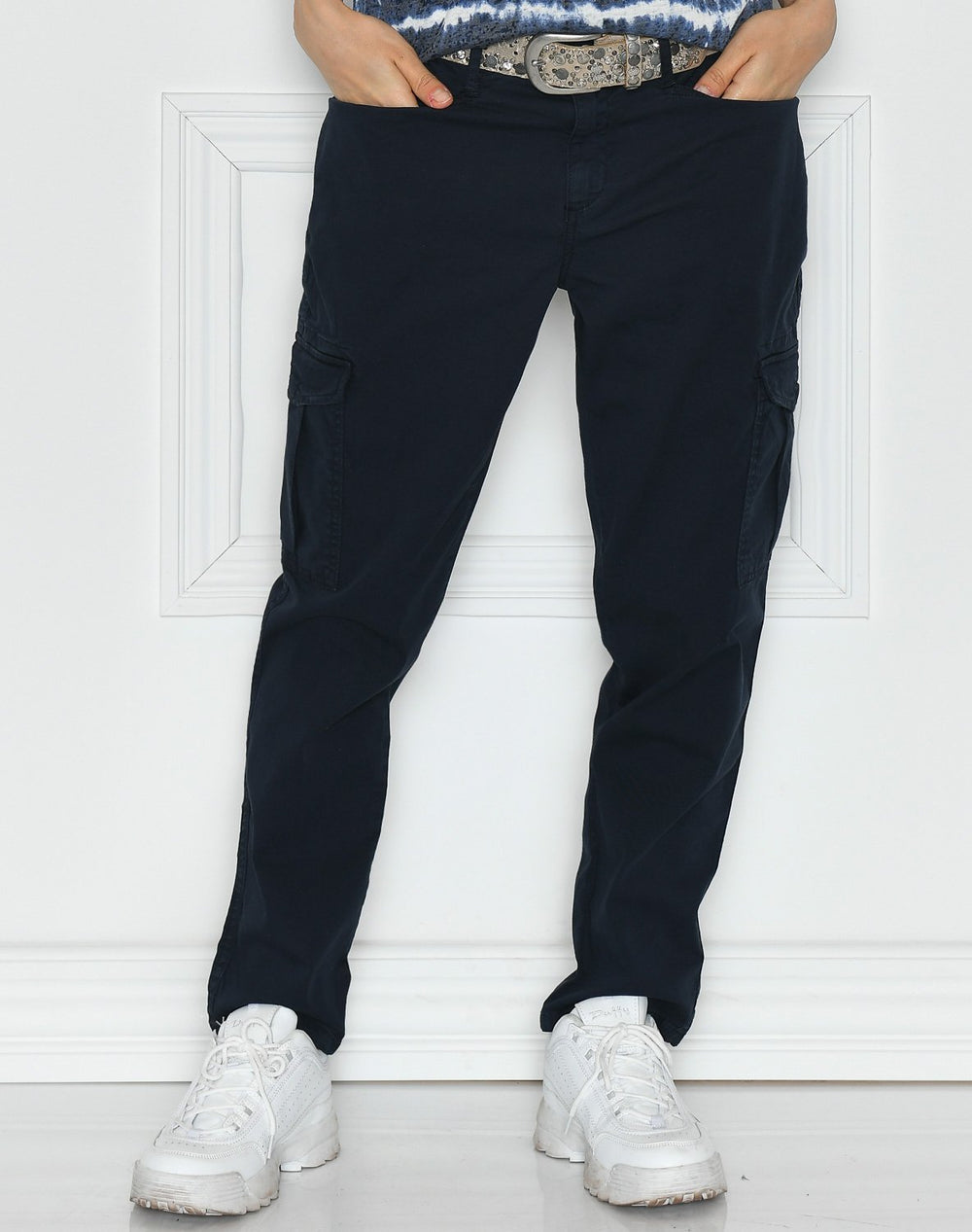 Soya Samira 7 pants navy - Online-Mode
