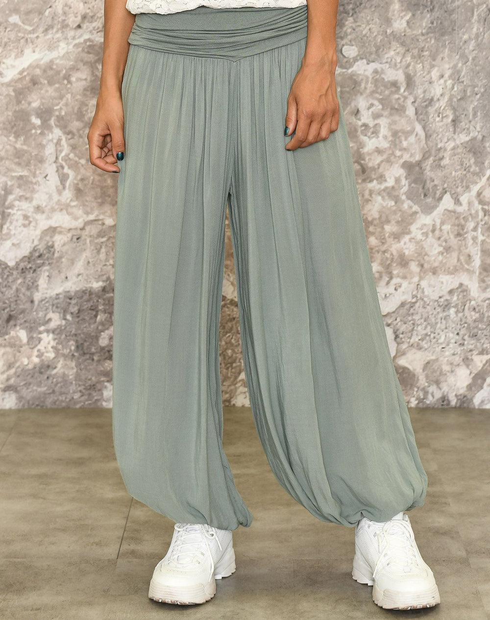 Whitney pants olive - Online-Mode