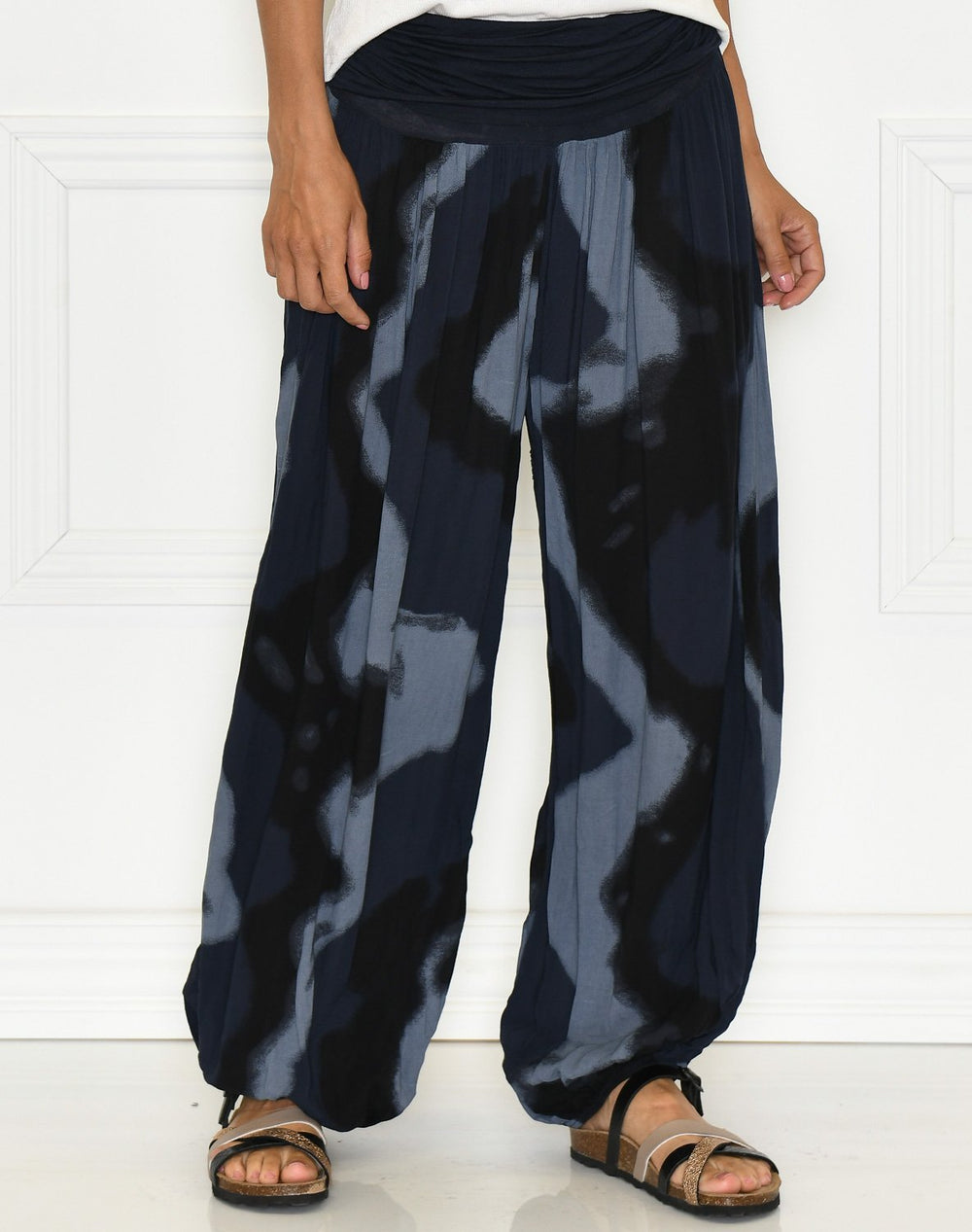 Whitney shade pants navy - Online-Mode