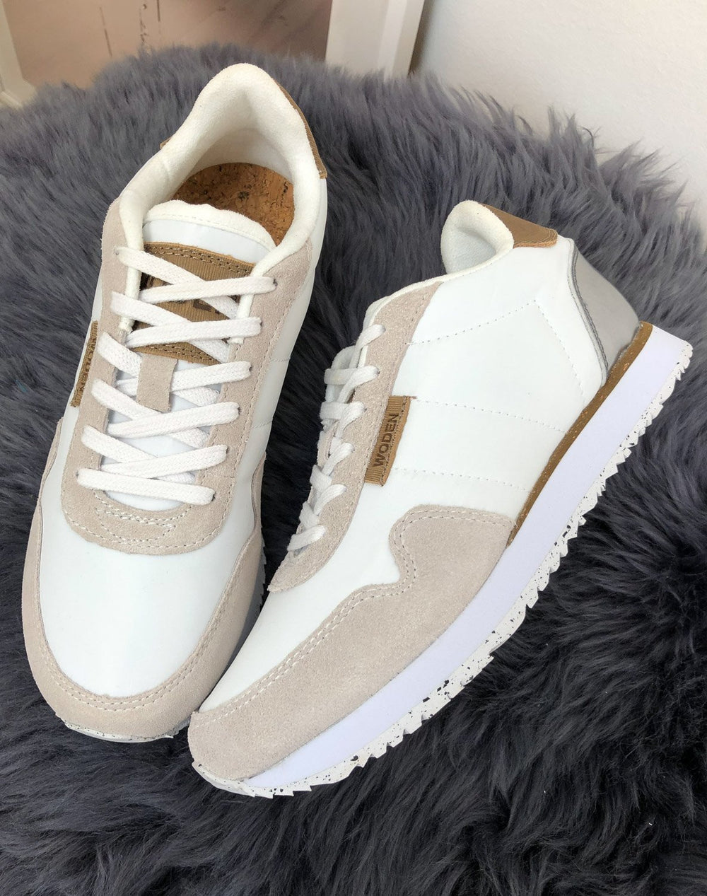 Woden Nora II sneakers bright white - Online-Mode
