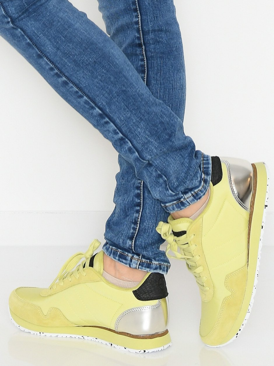 Woden Nora III sneakers lemongrass - Online-Mode