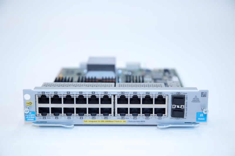 HP 20-Port Gig-T PoE+ / 2x SFP+ v2 zl Modul - REFURBISHED - J9536A