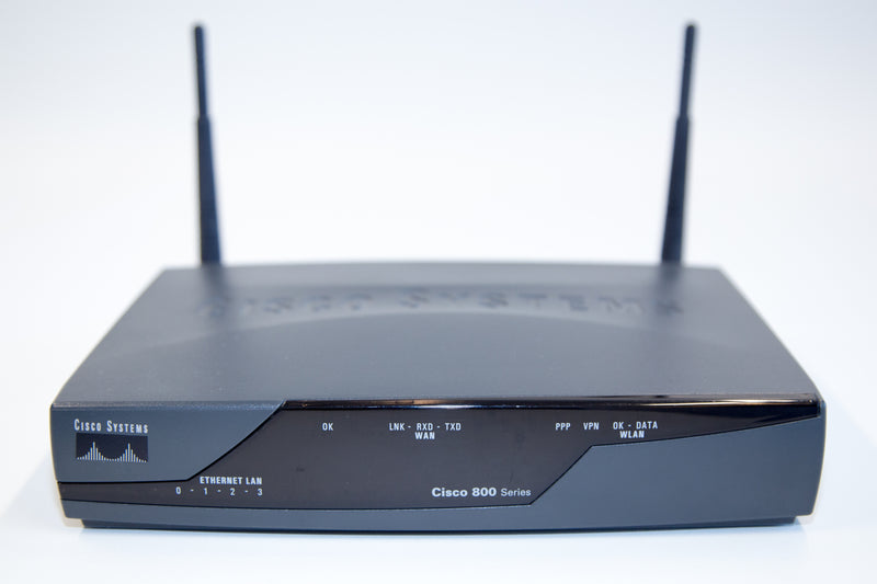 Cisco 871W Router - REFURBISHED - CISCO871W-G-E-K9