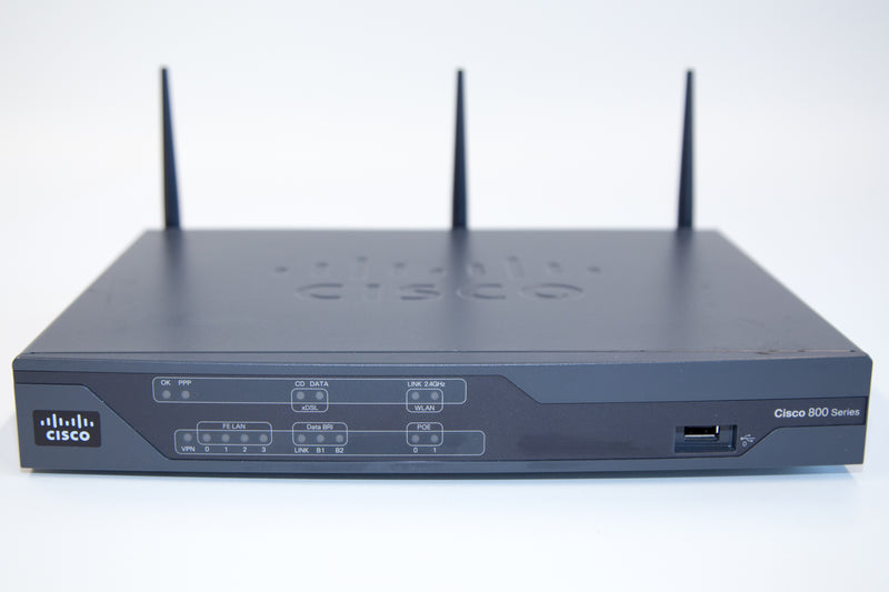 Cisco 886-W Router - REFURBISHED - CISCO886-W