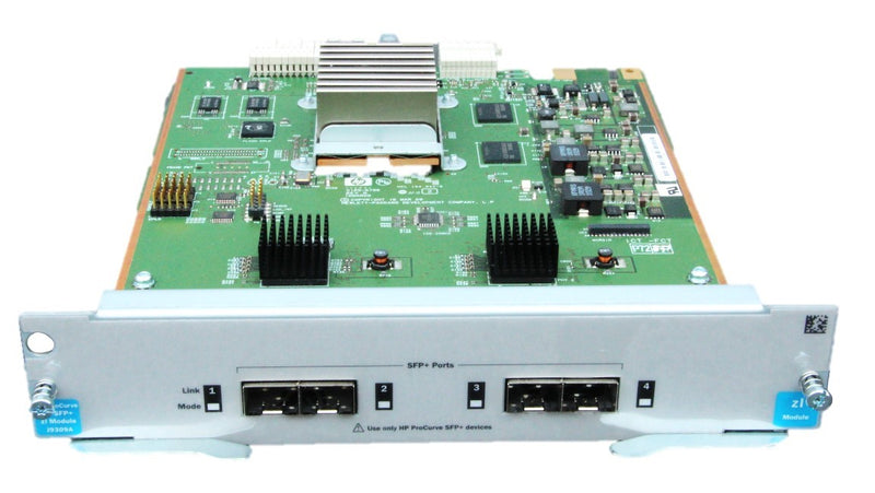 HP 4 Port 10 GbE SFP + zl Modul  - REFURBISHED - J9309A