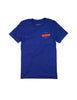 Blue Campground Tee Shirt - Front