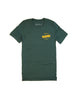 Green Campground Tee Shirt - Front