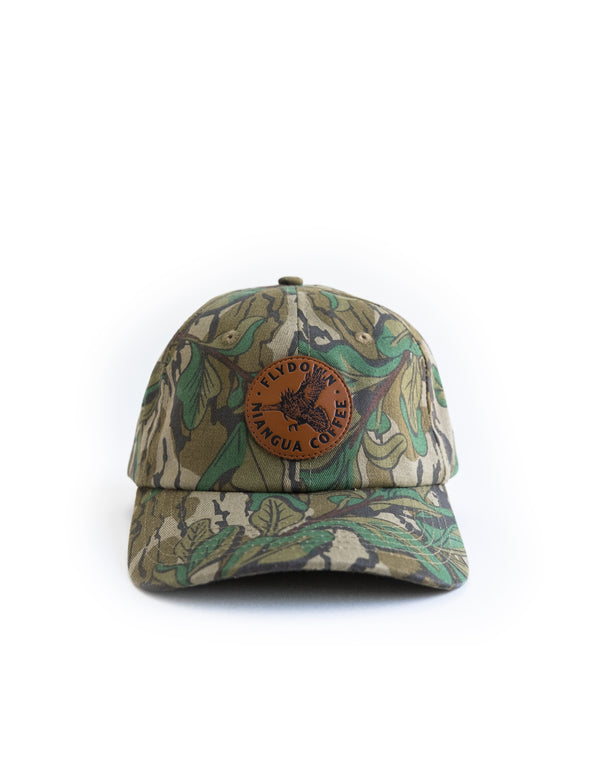 Flydown Mossy Oak Greenleaf Hat