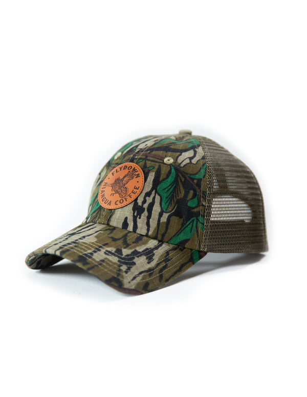 Flydown™ Mossy Oak™ Greenleaf Mesh Hat