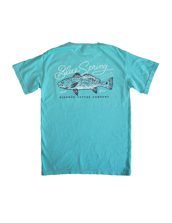 Blue Spring Redfish Tee