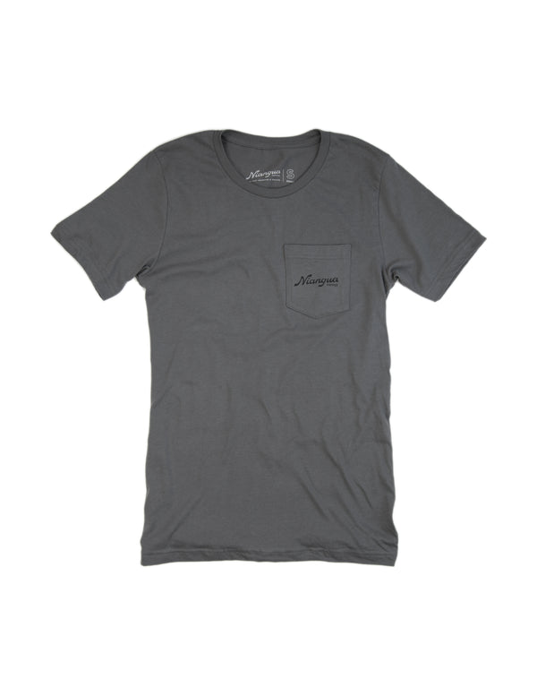 Dolomite Moon Valley Pocket Tee Shirt - Front