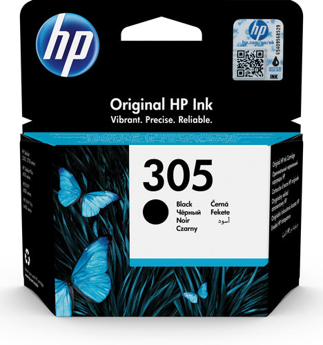 HP # 305 Black Original Ink Cartridge - HP 2720/4120