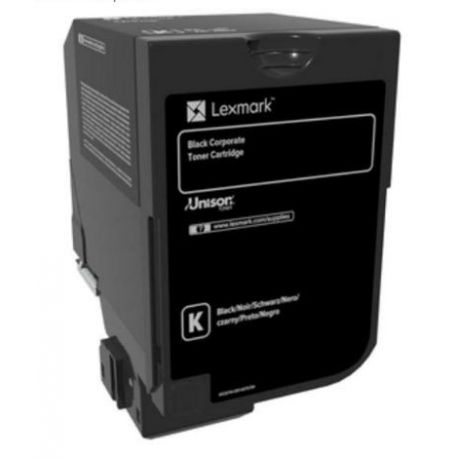 LEXMARK CS720 CS725 CX725 Black Corporate Cartridge (3K)