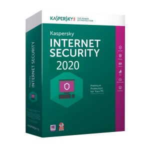 Kaspersky Internet Security 2020 3+1 device 1 year DVD