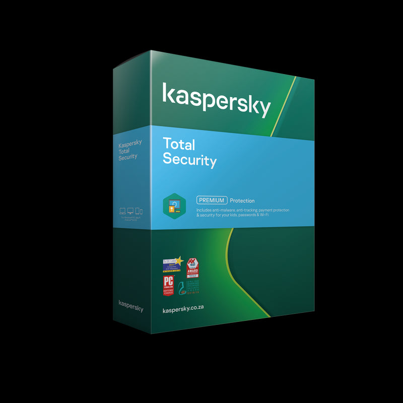Kaspersky Total Security 2020 3+1 free device 1year DVD