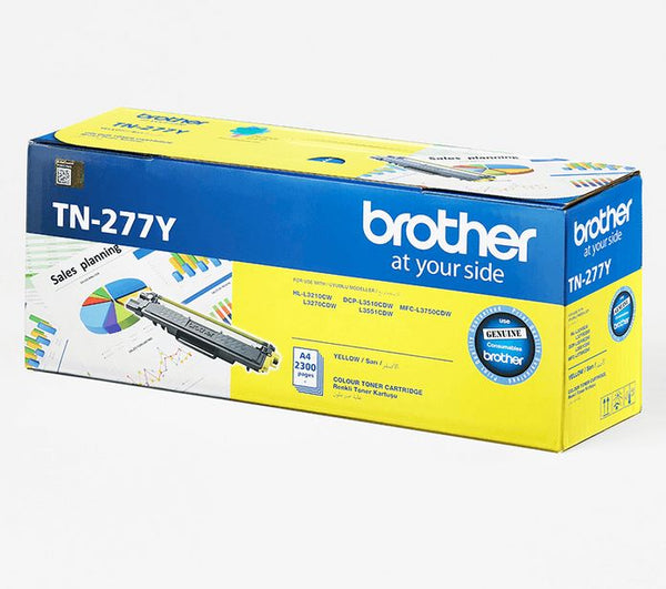 brother -yellow toner cartridge- hl3210cw / hl3750cdw/ hl3551cdw