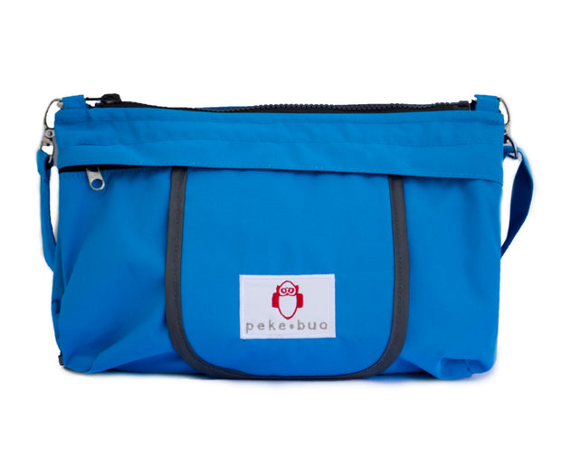 Peke-buo™ Sport BLUE Diaper Changing Bag--Outlet