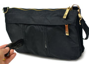 Peke-buo™ LX Gold BLACK Diaper Changing Bag