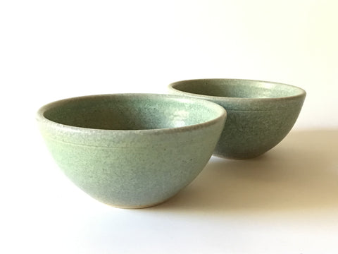 Sea Foam Green Cereal Bowl by Gary Hambleton