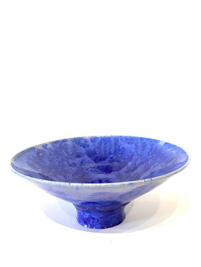 Crystalline Wide Bowl by Victoria Malone