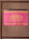 Mazy Peacock With Concealed Creeper Woven In Cyber Grape Purple Pure Kanchipuram Silk Saree with Gold Zari