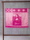 Classical Art Woven In Scorching Pink Pure Kanchipuram Silk Saree with Silver Zari