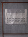 Chakra Motif Woven In Metallic Grey Pure Kanchipuram Silk Saree with Silver Zari