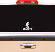 Load image into Gallery viewer, Bigfoot Believe Vinyl Decal Sticker for Cars, Windows, Signs, Etc.
