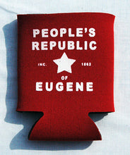 Load image into Gallery viewer, Printed Can Cozie Cooler Insulator - People's Republic of Eugene